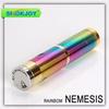 2014 original mechanical electronic cigarette rainbow copper e cigarette nemesis mod vaporizer full mechanical