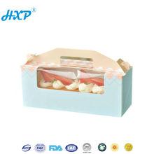 Paper box 2C 3-Layer A-Flute Offset Elegant birthday cake gift boxes