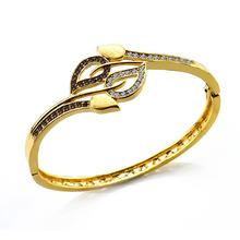 2014 new design 22K gold snake bracelets bangles for girls