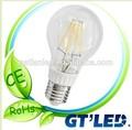 novo design led branco quente lâmpada de filamento da lâmpada