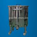 1000l recipiente de acero inoxidable, líquido/de almacenamiento de agua del buque, líquido del silo