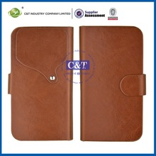 2014 Leather smartphone for s4 leather cases