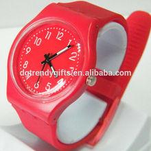 Promotion custom quartz watch silicone