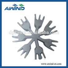 Aluminum Extrusion section heat sink / sunflower heatsink