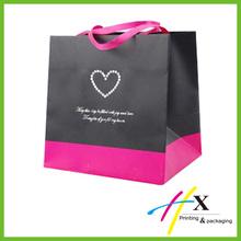 retail paper shopping bag / custom printed paper bag