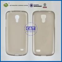 Wholesale double colors design mist transparent tpu cases for samgalaxy s4