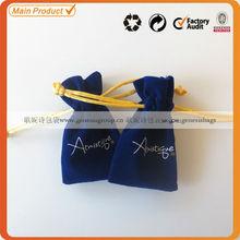 Custom size velvet bag for gifts