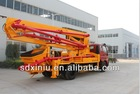 China engineering machinery 28m concrete pomps