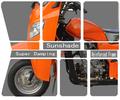 motocicleta de três rodas triciclo para deficientes triciclo elétrico de passageiros com assento