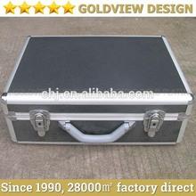 Aluminum truck tool box& portable aluminum tool box with Adjustable Dividers &Detachable Tool Pallet,metal truck tool box