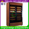 Good quality wooden furniture wine rack cabinet for wine storage