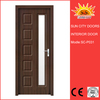 PVC color laminated window and door factory SC-P031
