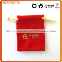 small velvet ring bag
