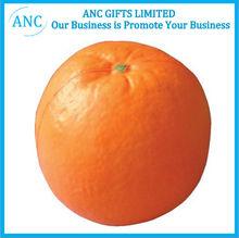 pu fruit custom anti stress promotional pu organe