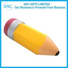 pu fruit custom anti stress promotional pu pencil