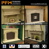 European style luxury natural gas corner fireplaces