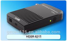 HD mini DVB-S2 Satellite receiver FTA and PVR model HDSR 621T