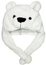 fake faux fur, soft plush, fleece, newest design fashion fuzzy animal hats, hotsale, long and short