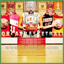 Basketball court advertising