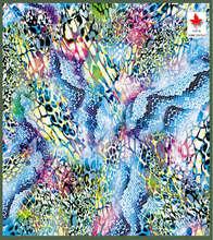 The Flowery Ocean Print Printing design paper