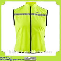 OEM nylon water proof printed logo work vest for supermarket