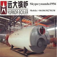 Big furnace heavy oil fired steam boiler