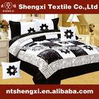 king size velvet patchwork comforter set luxury 3d embroidery adult bedroom set cheap bed sheet quilt bedding