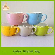 colorful apple shape fine bone china coffee mugs,bone china milk mug,bone china mugs cups with gold rim