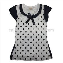 GZY stocklot top fashion beautiful girl t shirt Guangzhou factory