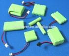 Ni-MH AAA800mAh 1.2V,2.4V,3.6V,4.8V,6V, rechargeable battery pack