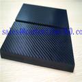 Venda quente 3k laminado folha de carbono, fibra de carbono do bloco, fibra de carbono pannel/placa
