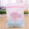 folding Mini mesh zipper laundry bag washing bag for socks collapsible laundry basket