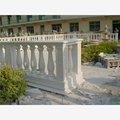 villa para diseños de mármol natural de la escalera de madera pilar