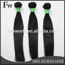 Faceworld hair tangle&shedding free unprocessed virgin brazillian hair