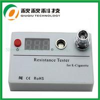 E-cigarette ce4 clearomizer needed the resistance tester ohm meter digital cartomizer / atomizer resistance tester (ohm meter)