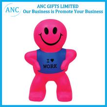 animal stress toy custom anti toy promotional pu smile