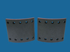 truck brake liner BC/36/1,suit for BPW,asbesto free, with High Temperature Resistance