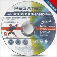 "5"" 125x1.6x22.2mm cutting discs for stone, metal, inox,aluminum with en 12413 3M Abrasive Discs"
