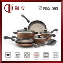 11pcs porcelain enamel cookware high quality