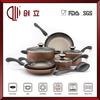 11pcs porcelain enamel cookware high quality
