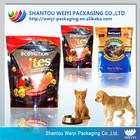 resealable printed zip lock stand up cat food pack bag