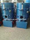 Plastic film agglomerator compactor/agglomerator