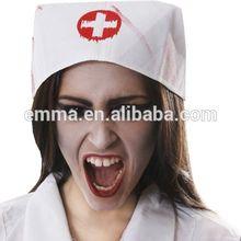 Enfermeira sexy enfermeira chapéus chapéu do traje h-1533