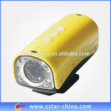 5.0 Mega CMOS Sensor 720P 20M waterproof night vision sport camera
