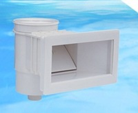 abs wall skimmer for swimming pool