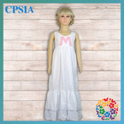 Wholesale Smock Dresses Kids Clothes White Long Baby Girl R