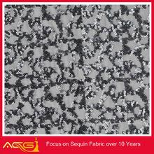 Latest ACG Design mesh sequins embroidery fabric jacquard elastic lace fabric