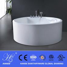 china very small round freestanding bathtub/small round acrylic bathtub sizes 1.3M