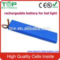 2014 melhor fábrica oem de topo bastão de luz led da bateria