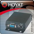 Domo de alta velocidad de la cámara de vídeo el uso de datos& bnc a vga convertidor